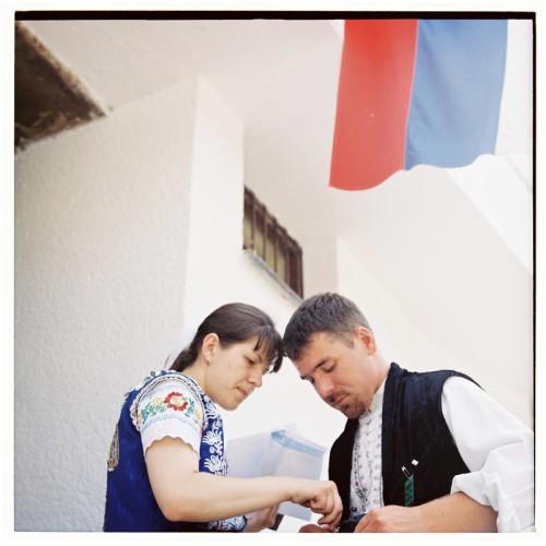 Voľby na Myjave; foto Martin Kleibl