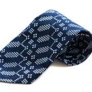 Modrotlačová kravata