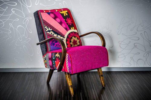 """Vintage kreslo """"Mungo craft"""""""