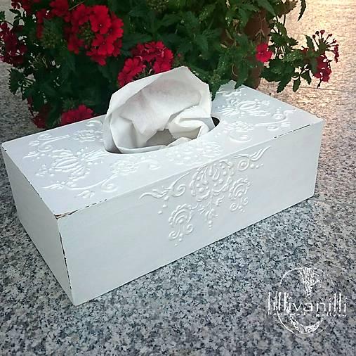 Box na vreckovky; Sashe lillivanilli
