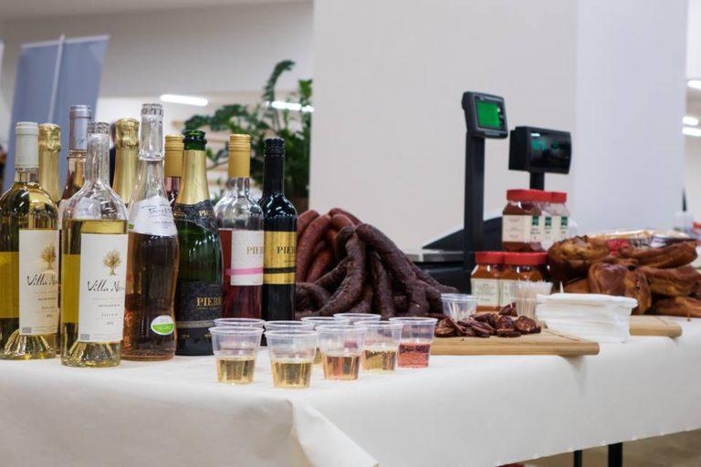 Ochutnávka vín a špecialít; zdroj www.cultus.sk